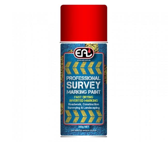 Survey Marking Paint Fluoro Red
